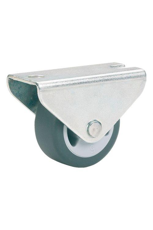 Fiksno pohištveno kolo Stabilit (premer kolesca: 25 mm, nosilnost: 30 kg, drsni ležaj, s ploščo)