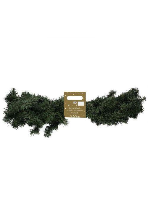 Girlanda Deluxe za božično drevo (premer: 30 cm, dolžina: 270 cm, 150 TIPS)