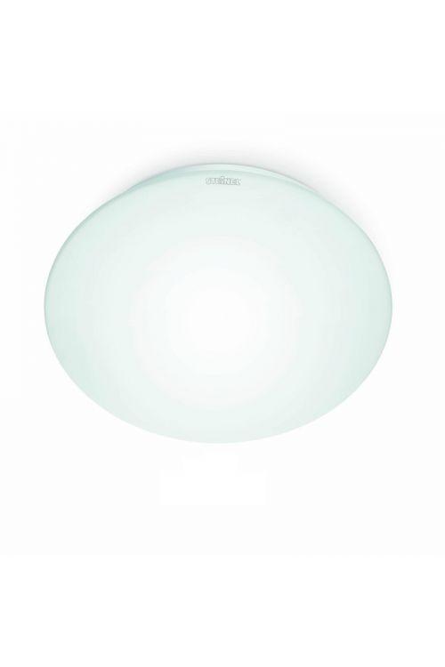 LED STROPNA SVETILKA Z SENZORJEM (9,5 W, 845 lm, 3.000 K, IP44, premer 25,5 cm, višina 9,5 cm, bela)