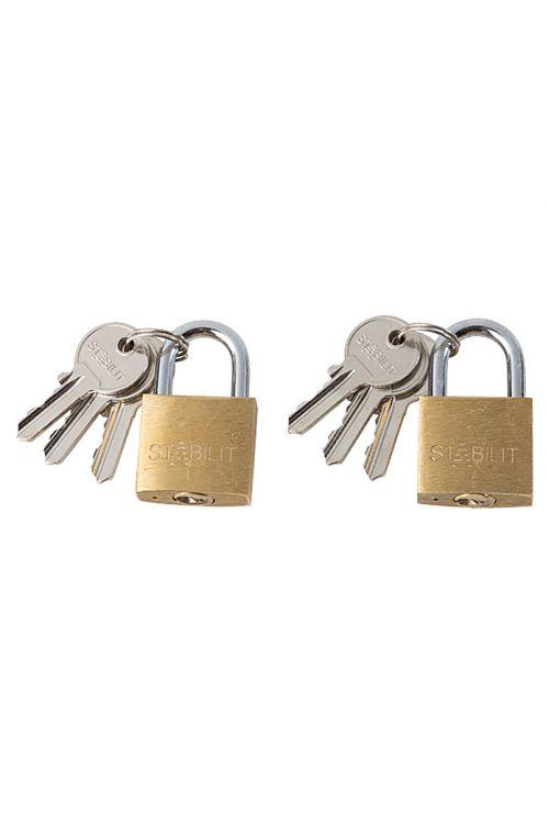 Komplet ključavnic obešank Stabilit (2 kosa, širina: 30 mm, jeklo)
