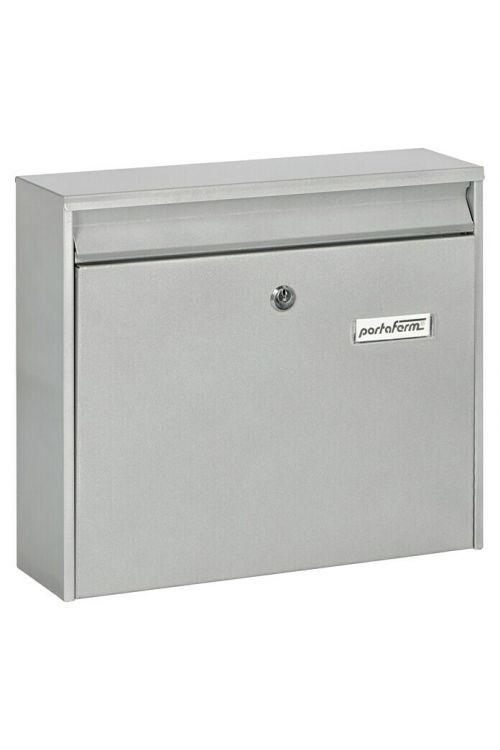 Poštni nabiralnik Portaferm PM 44 (10 x 36,2 x 32,2 cm, srebrne barve)