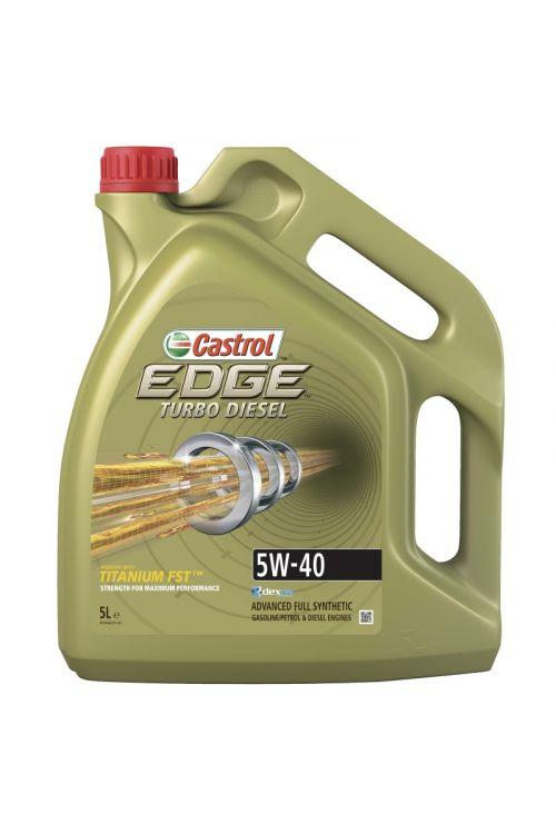 Motorno olje Castrol Edge Turbo Diesel 5W-40 (5 l)