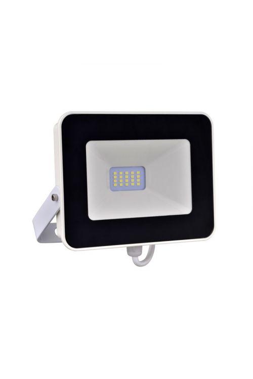 LED REFLEKTOR  S SENZORJEM  (10 W, 900 lm, 4.000 K, IP65, d 3,1 x š 12,8 x v 11,2 cm, črno-beli)