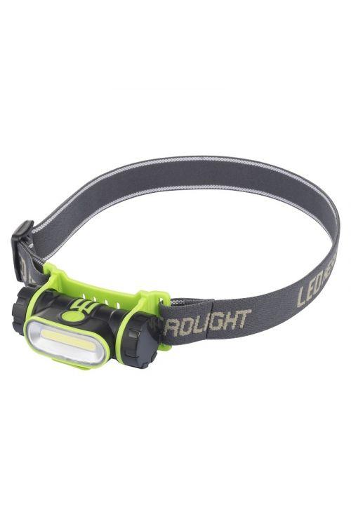LED BATERIJSKA NAGLAVNA SVETILKA PROFI DEPOT H160 (2 W, 150 lm, 2200 mAh, svetilnost 4-20h, polnilna)
