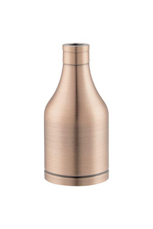 Okov za žarnico E27 (kovina, bakrena barva)