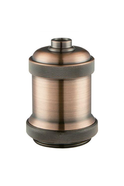 Okov za žarnico E27 (bakrena barva)