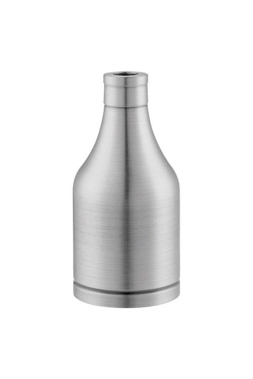 Okov za žarnico E27 (jeklo, siva)