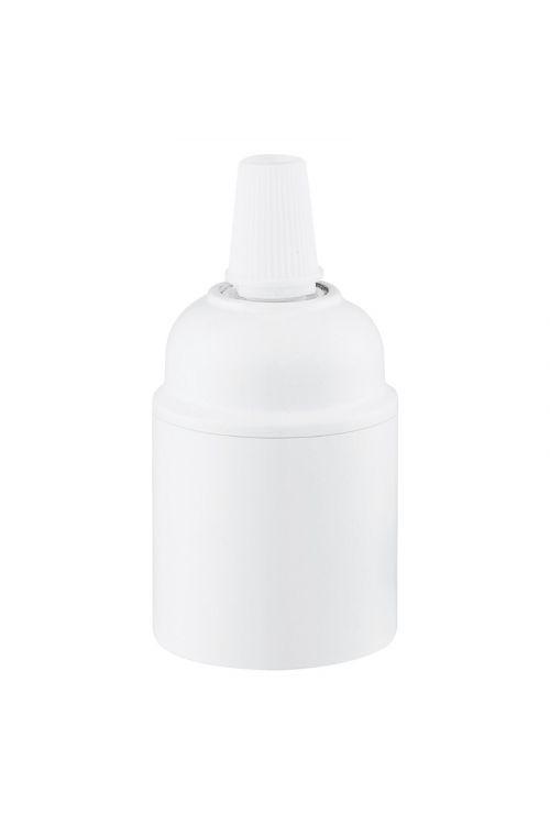 Okov za žarnico E27 (bel)