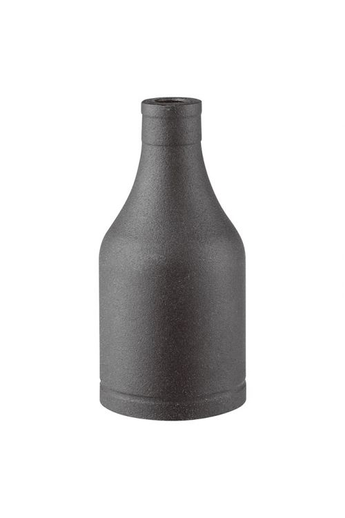 Kovinski okov za svetilko Home Sweet Home (črna barva)