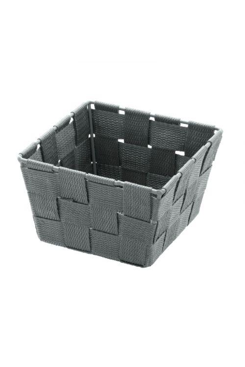 Košarica za shranjevanje Wenko Adria Mini (14 x 9 x 14 cm, siva, polipropilen)