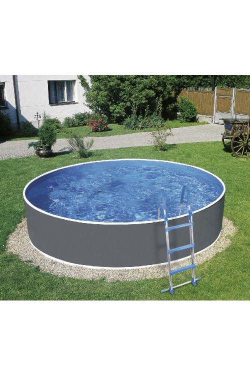 Montažni bazen My Pool Splash (Ø 350 x 90 cm, jekleno ogrodje, peščeni filter 3.600 l/h, z lestvijo)