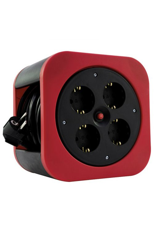 Kabelski boben REV S-Box (10 m, rdeč)