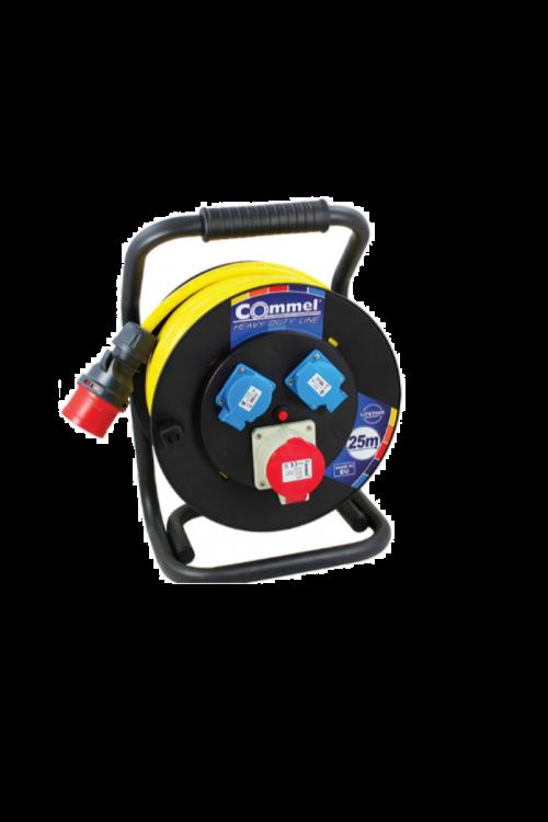 Kabelska roleta Commel N07V3V3-F-rumen (5G2,5, 400 V, 25 m)