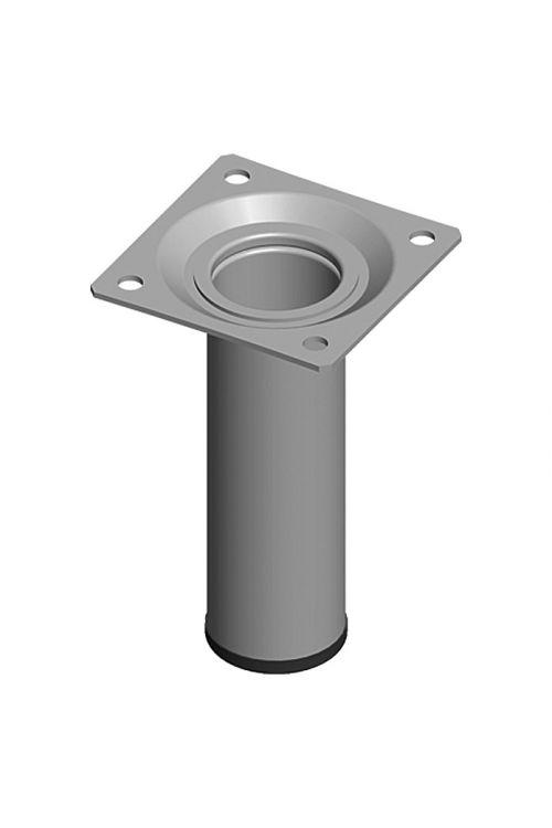 Pohištvena noga Element System (Ø x D: 30 x 100 mm, nosilnost: 50 kg, srebrna)