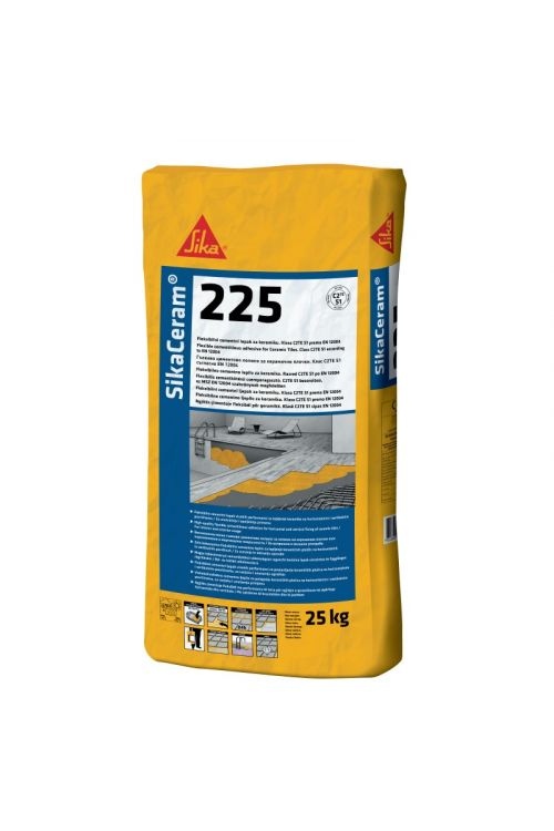 Lepilo za ploščice Sika Ceram 225 (25 kg, razred C2 TE S1)_2