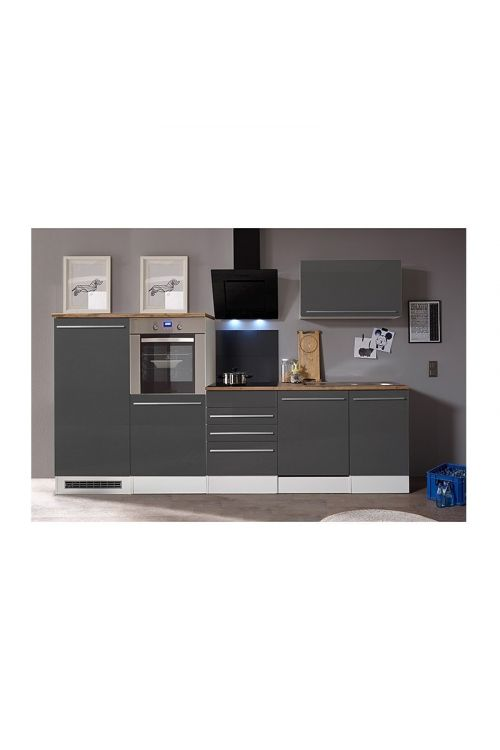 Kuhinjski komplet Respekta Premium (290 cm, siv)