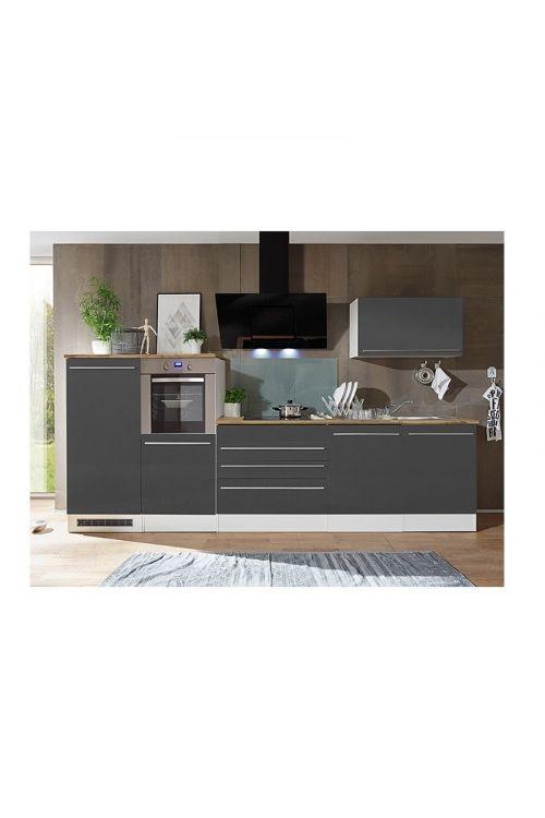 Kuhinjski komplet Respekta Premium (320 cm, siv)