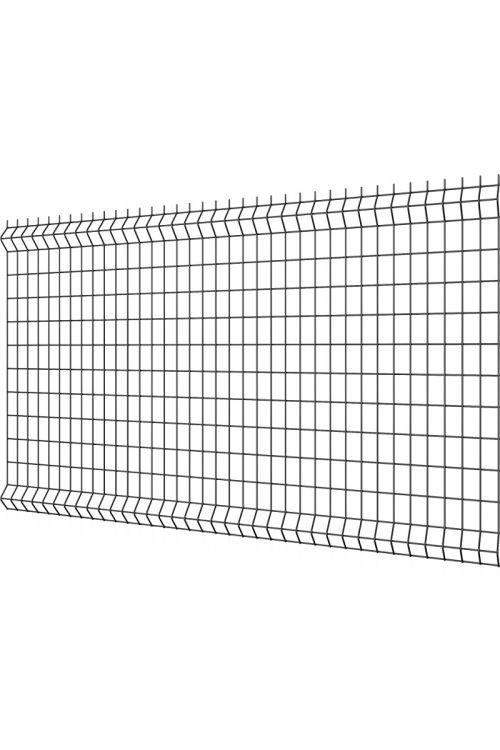 Ograjni panel Reta M (250 x 123 cm, deb. žice: 4 mm, antracitne barve)