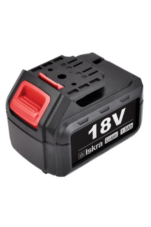 Baterija za akumulatorski vrtalnik Iskra ML-CD92-180 (18 V, 1.5 Ah)