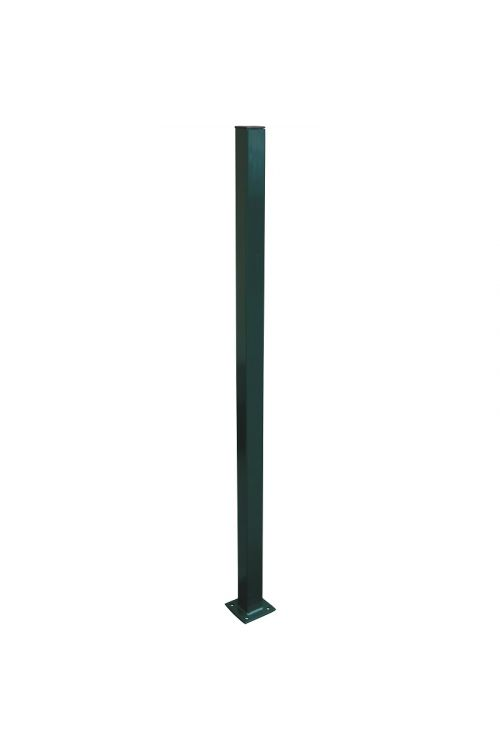 Ograjni steber M  (1230 x 50 x 50 mm, zelena)