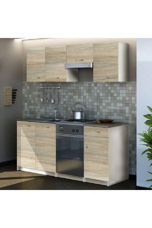Kuhinja Eco (180 cm, brez aparatov, hrast sonoma)