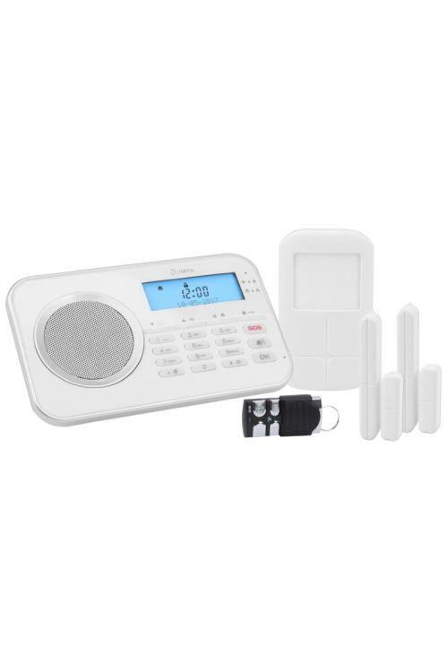 Brezžični alarmni sistem Olympia Protect 9868 GSM (za: 32 senzorjev, Plug&Play, radijska povezava)