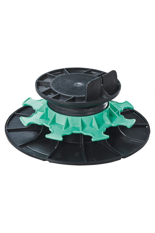 Nosilec za podkonstrukcijo (nosilnost: 1000 kg, plastičen, črn/siv, 8 kom.)