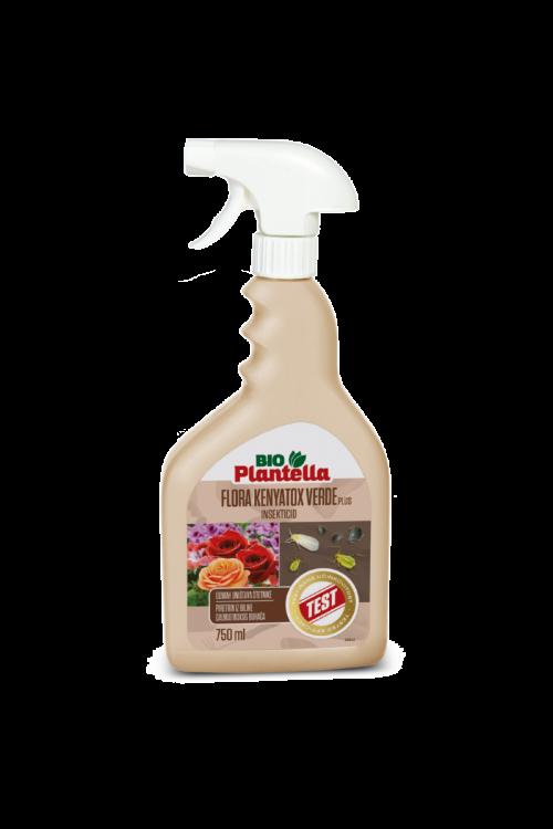 Insekticid Bio plantella flora kenyatox verde plus (750 ml, ekološki insekticid v spreju, za zatiranje škodljivcev na okrasnih rastlinah)