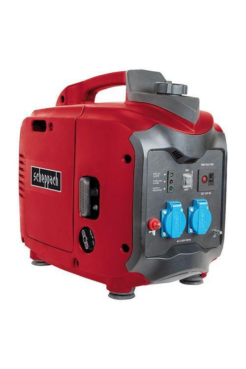 Inverterski agregat Scheppach SG 2000 Red Edition (2 kW, rezervoar: 3,2 l, čas delovanja: 2,5 ure)