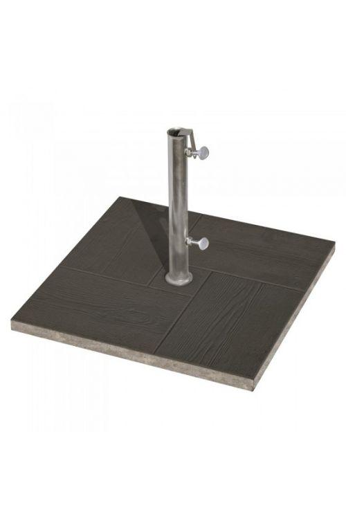 Betonsko stojalo za senčnik (32 mm, črn)