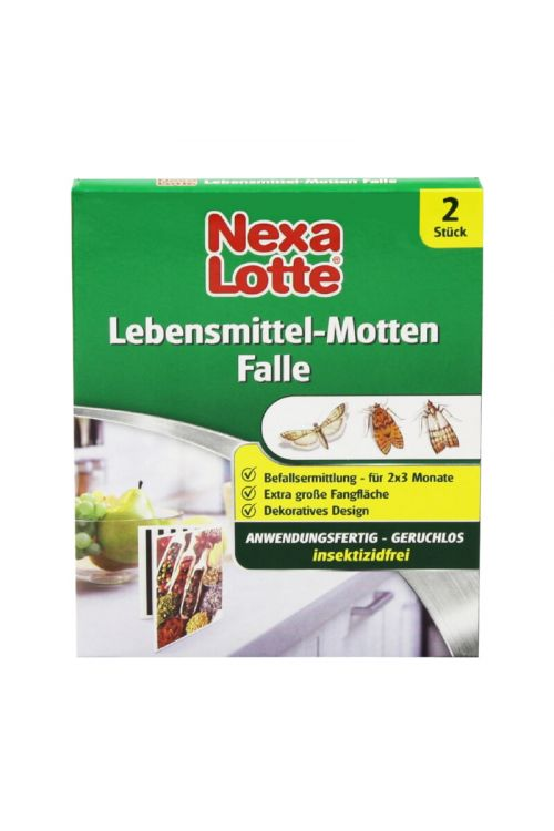 Feromonska vaba za molje v živilih Nexa Lotte (2 vabi)