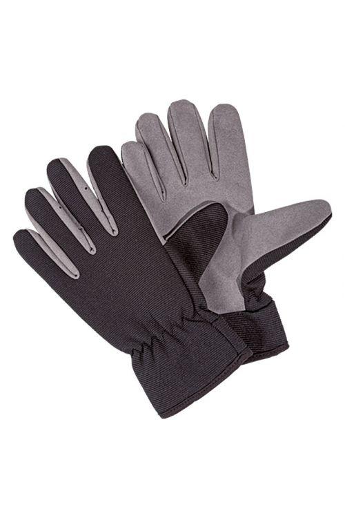 Delovne rokavice Wisent Basic (velikost: 10, črno-sive)