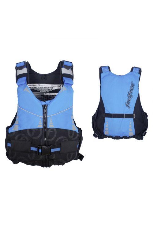 Rešilni jopič FEELFREE Advance S/M  (obseg prsi: 76–86 cm, do 60 kg, 55N, modre barve)