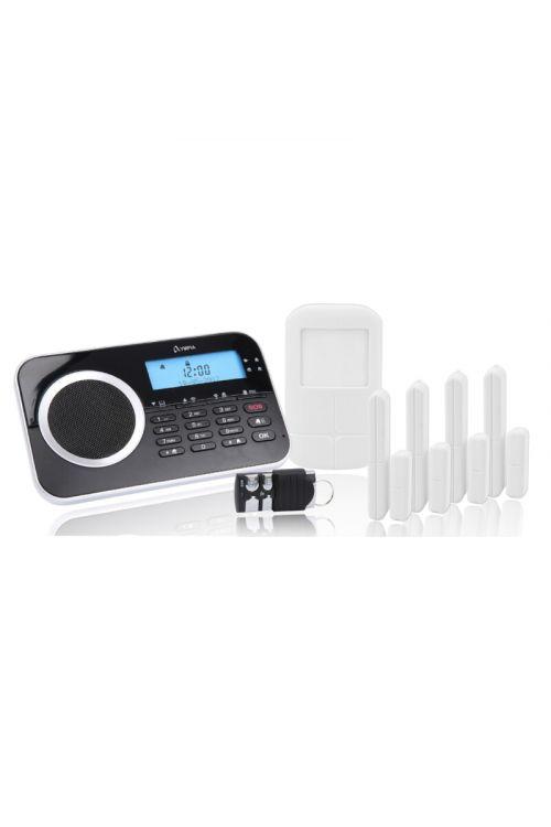 Alarmna naprava Olympia Protect (90 dB, LCD zaslon, domet 35 m)