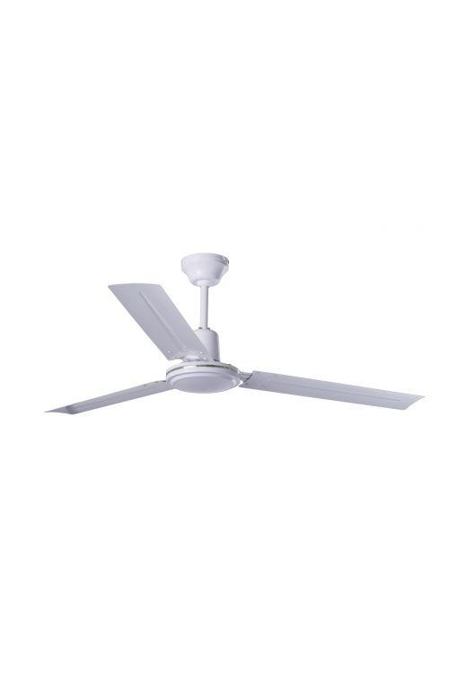 Stropni ventilator beli (60 W, Ø 121 cm, višina 34,9 cm)