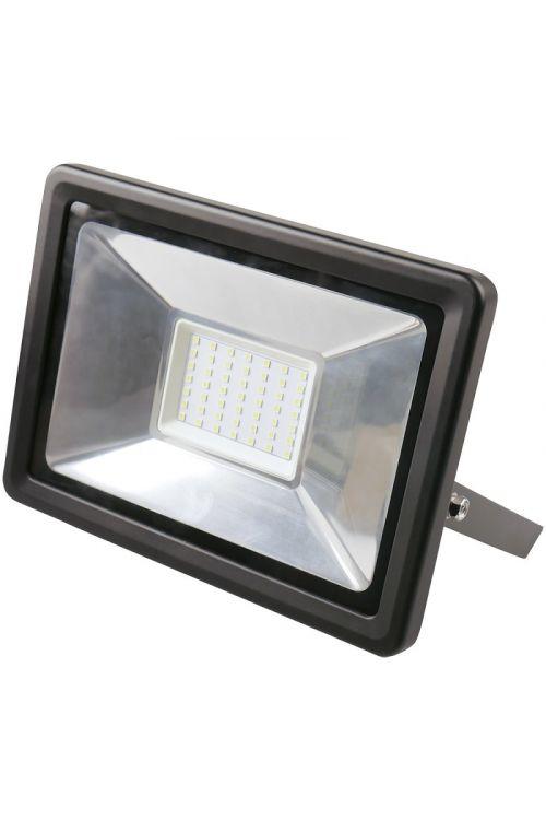 LED REFLEKTOR (50 W, 3.750 lm, 4.000 K, IP65, d 6,6 x š 20,2 x v 23 cm, črni)