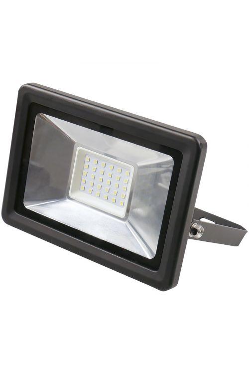 LED REFLEKTOR (30 W, 2.250 lm, 4.000 K, IP65, d 6,2 x š 15,6 x v 18 cm, črni)