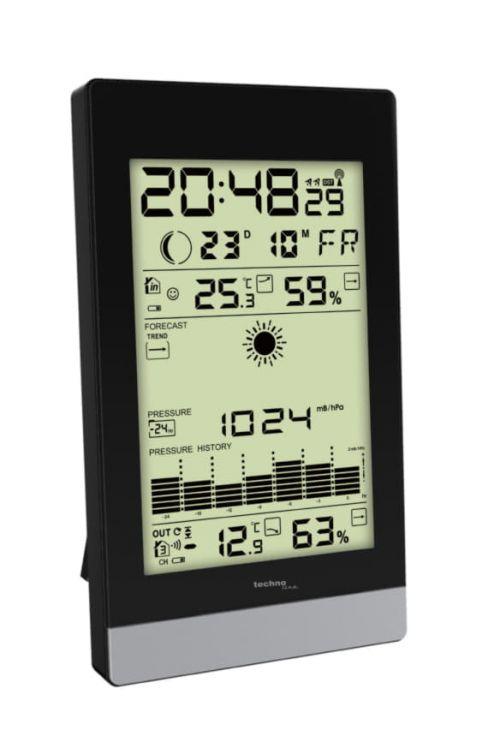 Digitalna vremenska postaja Technoline WS 9050 (črna, AA, večnamenska)