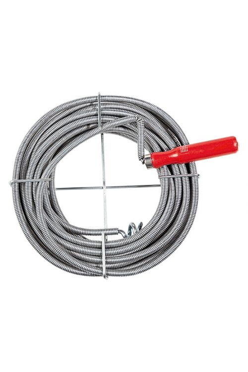 Spirala za čiščenje cevi Alpha Tools (10 m, premer: 9 mm)