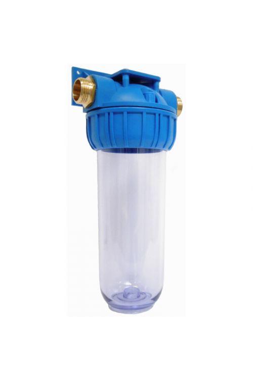 Tri - delno ohišje filtra za vodo MFV  (velikost 10'', priklop 1'', iz Polypropylene PP in Stryene Acrylonitrile AS, FDA odobreni materiali)