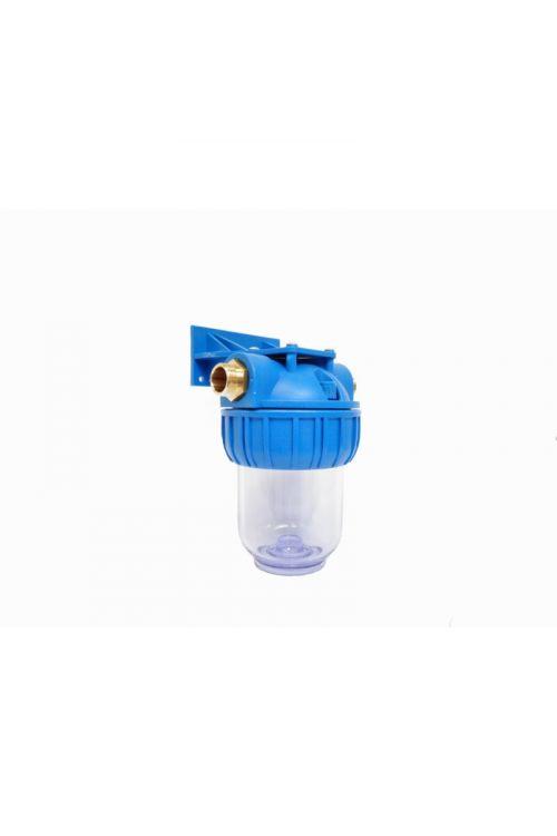 Tri - delno ohišje filtra za vodo MFV  (velikost 5'', priklop 3/4'', iz Polypropylene PP in Stryene Acrylonitrile AS, FDA odobreni materiali)