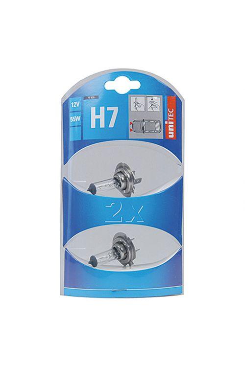 Žarnice za glavni žaromet UniTec (H7, 2 kosa)