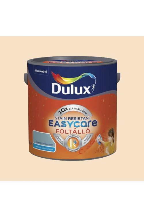 Stenska barva DULUX EASYCARE TOTALLY CREAMY  (2,5 l, notranja zidna barva odporna na madeže s hidrofobnim učinkom)