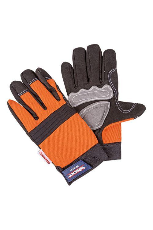 Delovne rokavice Wisent Worker (velikost: 10, sivo-oranžne)