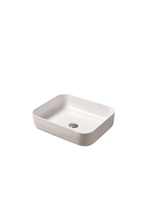 Nasadni umivalnik Pag (50 x 39 x 13 cm, keramični, bel)