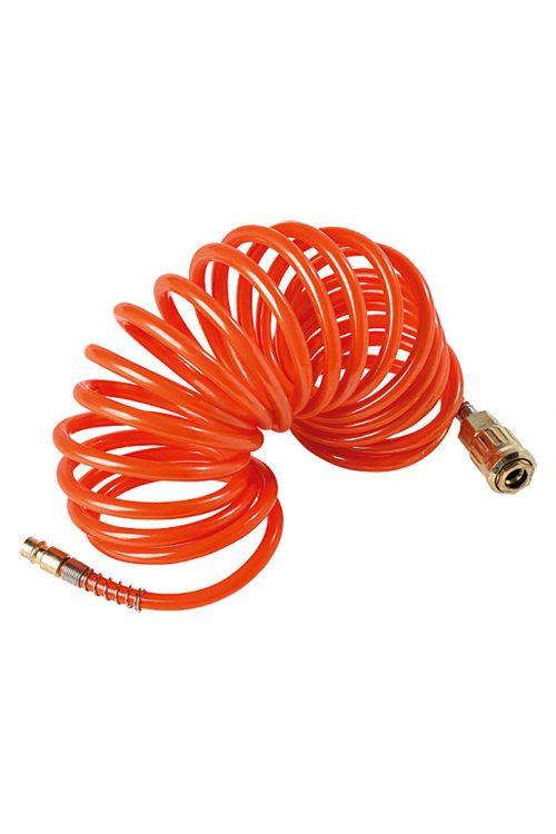 Spiralna gumijasta cev Craftomat (5 m, maksimalen tlak: 8 barov)