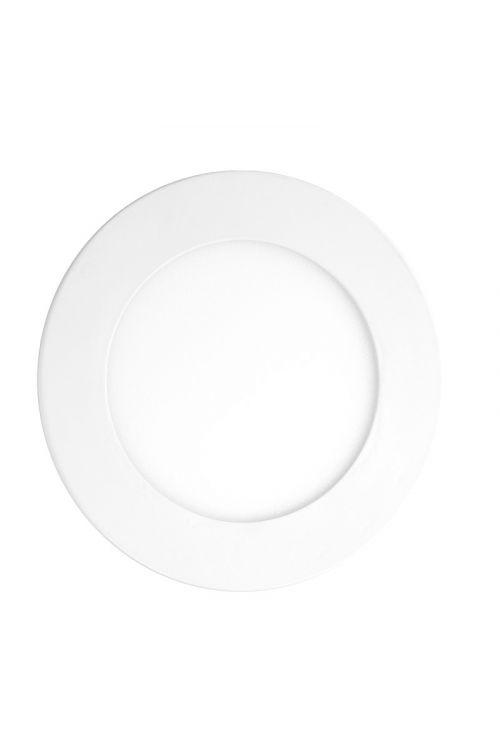 VGRADNI LED PANEL SLIM (6 W, 450 lm, 4.000 K, premer 12 cm, višina 12 mm, IP20, beli okvir)