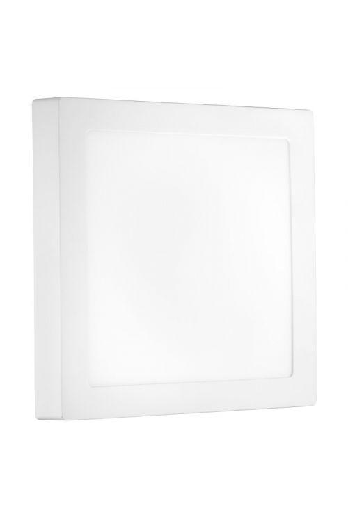 NADGRADNI LED PANEL SLIM (12 W, 900 lm, 4.000 K, d 17 x š 17 x v 3 cm , IP20, beli okvir)
