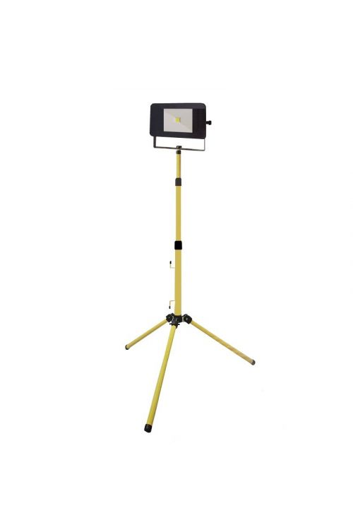 LED reflektor s stojalom Profi Depot (30 W, 2400 lm, 4000 K, IP65)