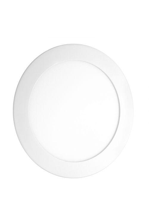 VGRADNI LED PANEL SLIM (12 W, 900 lm, 4.000 K, premer 17 cm, višina 1,2 m, IP20, beli okvir)